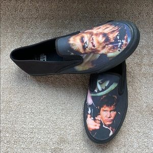 Sperry Star Wars slip on sneakers